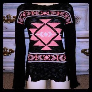 Pink Rose Women's Medium Sweater